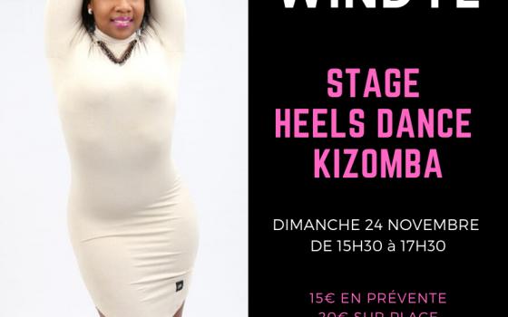 Stage Heels dance kizomba